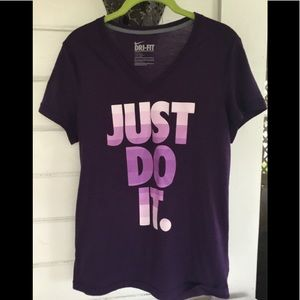 NIKE Dri - Fit Ladies Short sleeve Shirt